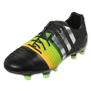 adidas Nitrocharge 1.0 FG (Black/Metallic Silver/Neon Orange)