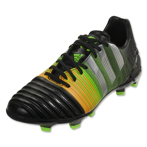 adidas Nitrocharge 3.0 FG (Black/Metallic Silver/Neon Orange)