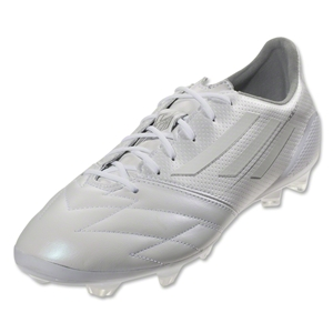 adidas adizero FG Leather (Running White/Metallic Silver)