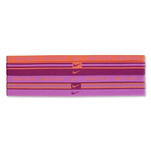 Nike Wide Sport Bands Assorted-6 Pack (Orange)