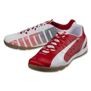 Puma evoSpeed 4.3 IT (White/High Risk Red/Empire Yellow)