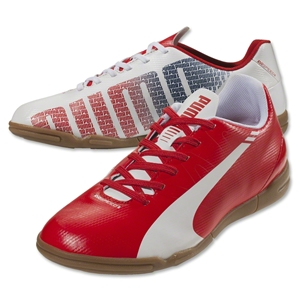 Puma evoSpeed 5.3 IT Junior (White/High Risk Red/Empire Yellow)