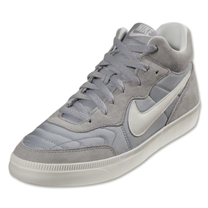 Nike NSW Tiempo Trainer Leisure Shoe (Wolf Grey/Challenge Red/Med Gum Brown/Ivory)