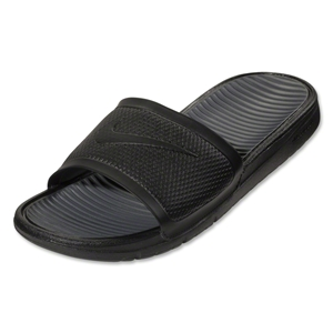 Nike Benassi Solarsoft Slide Sandal (Black/Dark Gray)