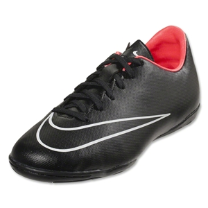 Nike Junior Mercurial Victory V IC (Black/Hyper Punch)
