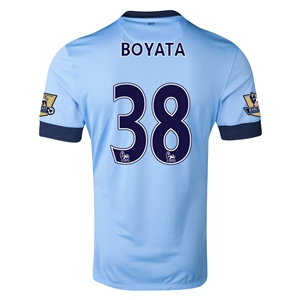 Manchester City 14/15 BOYATA Authentic Home Soccer Jersey
