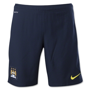 Manchester City 14/15 Away Soccer Short