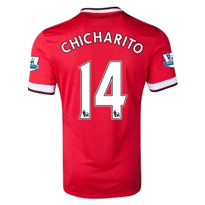Manchester United 14/15 CHICHARITO Home Soccer Jersey