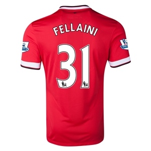 Manchester United 14/15 FELLAINI Home Soccer Jersey