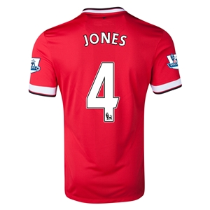 Manchester United 14/15 JONES Home Soccer Jersey