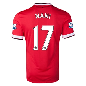 Manchester United 14/15 NANI Home Soccer Jersey