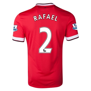 Manchester United 14/15 RAFAEL Home Soccer Jersey