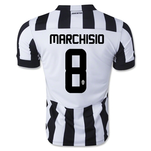 Juventus 14/15 MARCHISIO Home Soccer Jersey