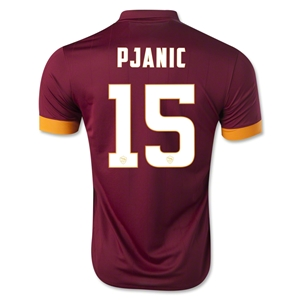 AS Roma 14/15 PJANIC Home Soccer Jersey