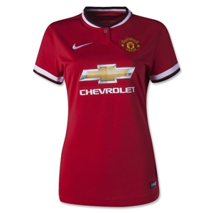 Manchester United 14/15 Women's Home Soccer Jersey