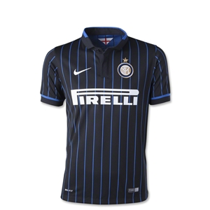 Inter Milan 14/15 Home Youth Soccer Jersey