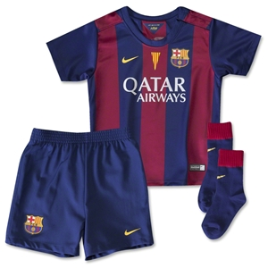 Barcelona 14/15 Infants Home Kit