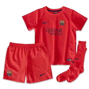 Barcelona 14/15 Kids Away Kit
