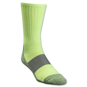 Under Armour Women's Allsport Crew Sock (Neon Yellow)
