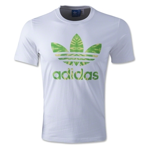 adidas Originals Trefoil Fill T-Shirt (White)