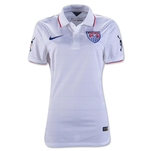 USA 2014 American Outlaw Authentic Home Soccer Jersey