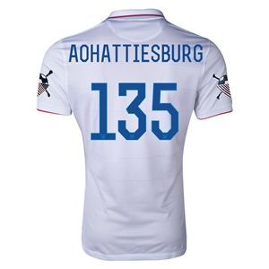 USA 14/15 American Outlaws AOHATTIESBURG Home Soccer Jersey