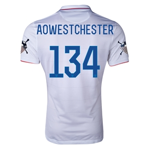 USA 14/15 American Outlaws AOWESTCHESTER Home Soccer Jersey