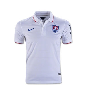 USA 2014 American Outlaws Youth Home Soccer Jersey