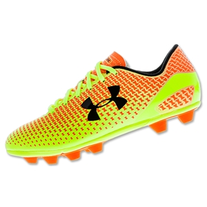 Under Armour Speed Force HG Junior (Blaze Orange/High-Vis Yellow)