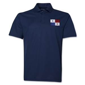 Panama Flag Soccer Polo (Navy)