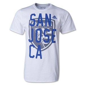 San Jose Earthquakes Bleed Through T-Shirt