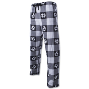 Soccer Ball Plaid Flannel Pants