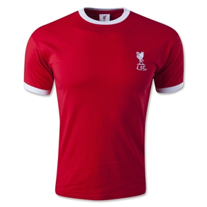 Liverpool 1973 Home Soccer Jersey