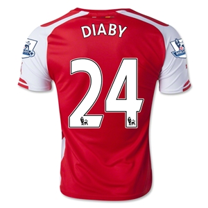 Arsenal 14/15 DIABY Home Soccer Jersey
