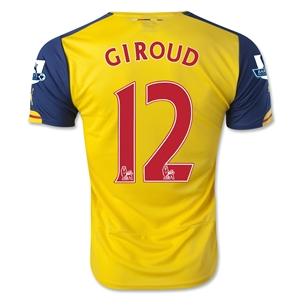 Arsenal 14/15 GIROUD Away Soccer Jersey