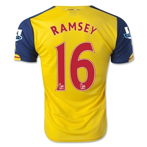 Arsenal 14/15 RAMSEY Away Soccer Jersey