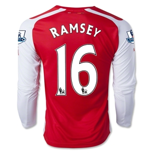 Arsenal 14/15 RAMSEY LS Home Soccer Jersey