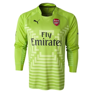 Arsenal 14/15 LS Away Keeper Soccer Jersey
