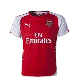 Arsenal 14/15 Youth Home Soccer Jersey