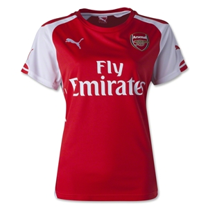 Arsenal 14/15 Women's Home Soccer Jersey