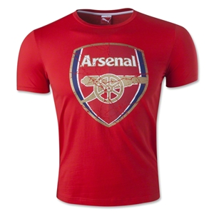 Arsenal Fan T-Shirt (Red)