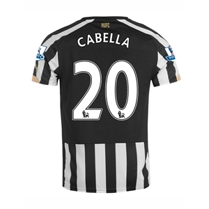 Newcastle United 14/15 CABELLA Home Soccer Jersey