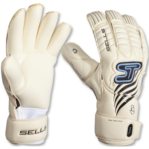 Sells Total Contact Aqua Goalkeeper Gloves