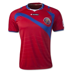 Costa Rica 2014 Home Soccer Jersey