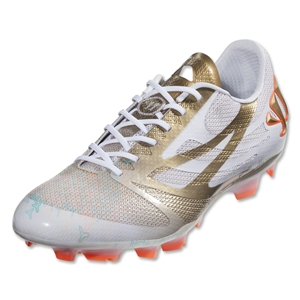 Warrior Superheat S-Lite FG (White/Metallic Gold/Shocking Orange)
