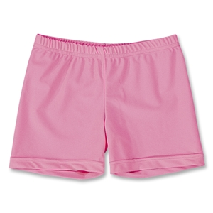 Pink Splatter 4 Compression Short (Pink)