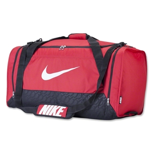 Nike Brasilia 6 Large Duffle Bag (Red)