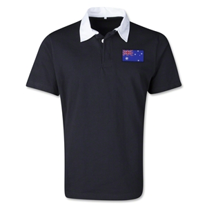 Australia Retro Flag Shirt (Black)