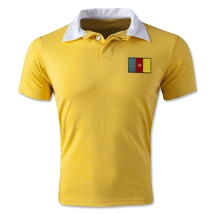 Cameroon Retro Flag Shirt (Yellow)