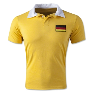 Germany Retro Flag Shirt (Yellow)